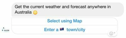Align Weather Chatbot